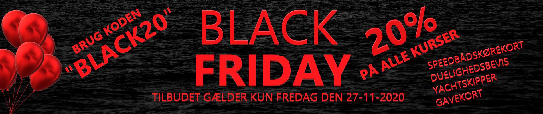 BLACK_FRIDAY_speedbaadskoerekort_duelighedsbevis_gavekort_banner
